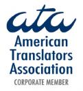 American Translators Association Corporate Member Logo