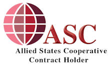 Alied States Cooperative Logo Contract Holder